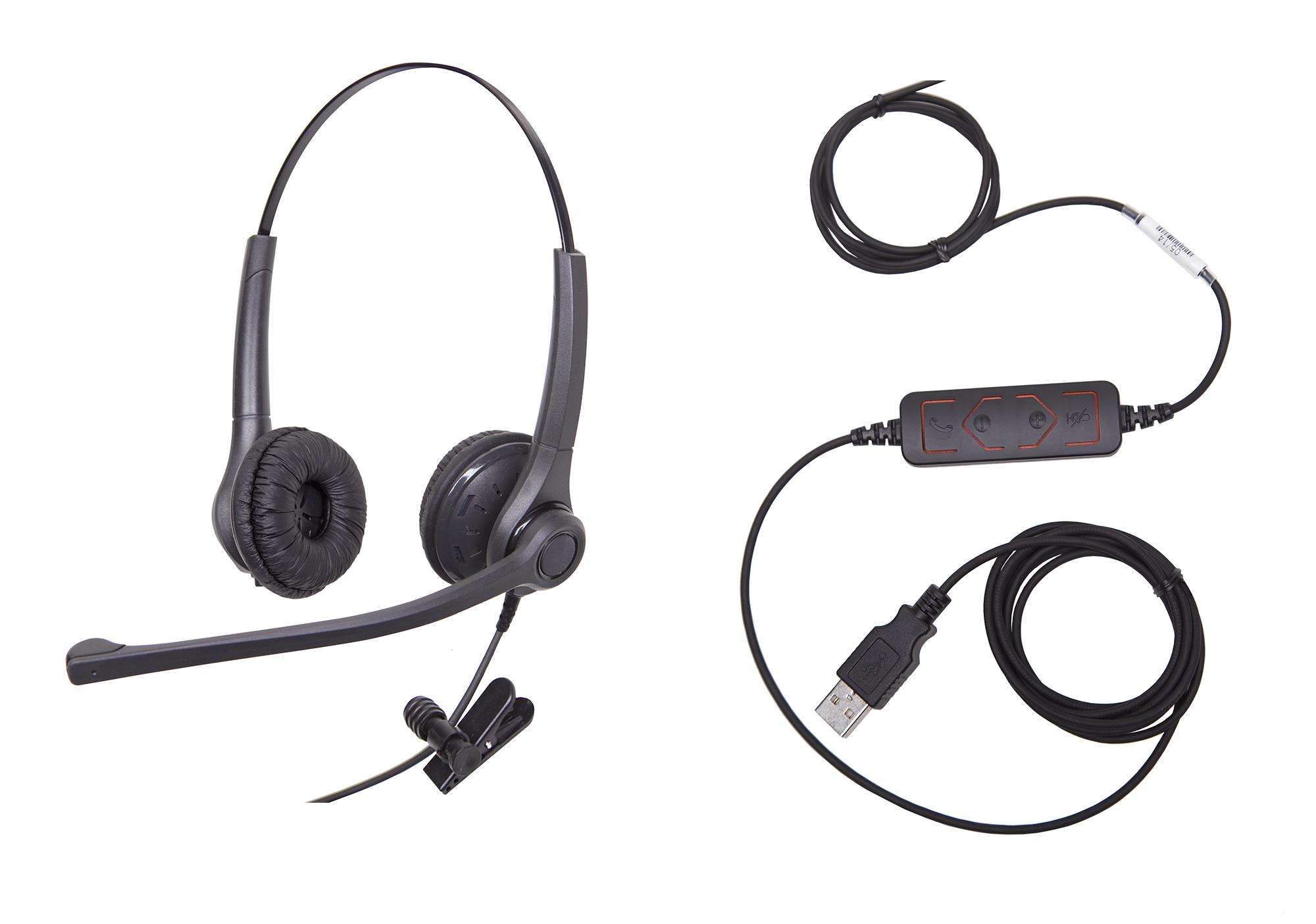 2042 Consumer Grade Stereo USB Headset