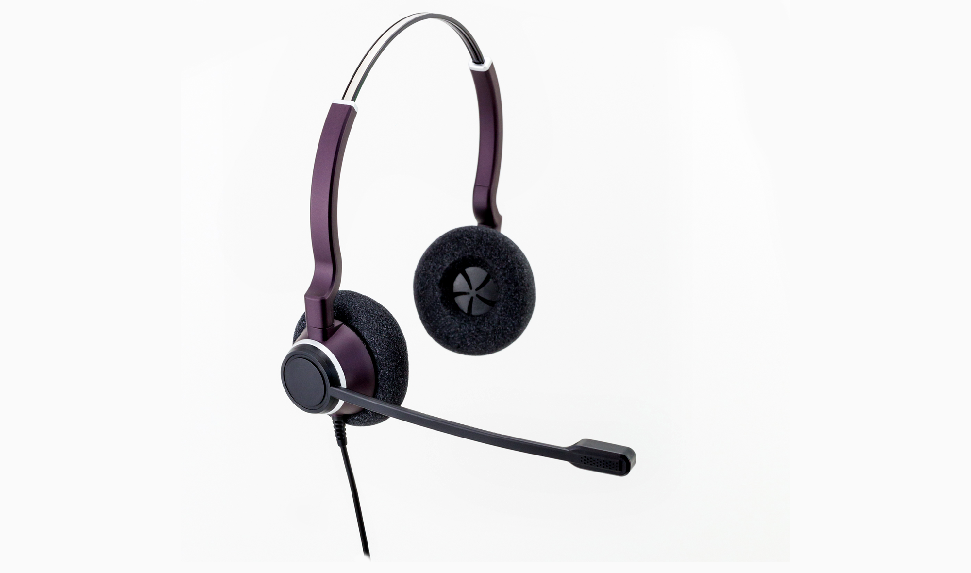 5042C-USB Clearphonic™ HD Sonorous Pro Stereo USB Headset w/ No Quick Disconnect