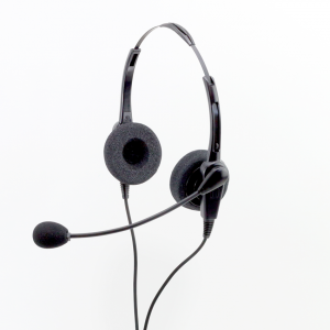 2233 Commercial Grade Stereo USB Headset w/ No Quick Disconnect